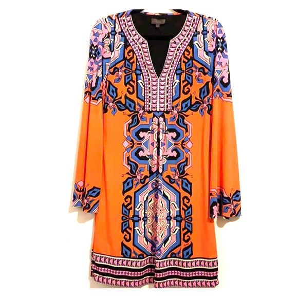 Hale Bob Dresses & Skirts - Hale Bob long sleeve VNeck dress